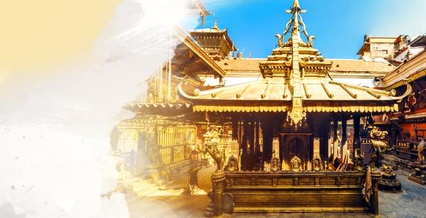 The Golden Shrine of Nepal