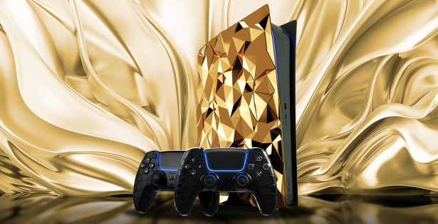 Gold gaming console — an attribute of the elite gamer