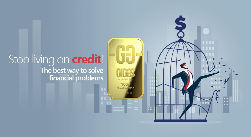 Stop living on credit! The best way to solve financial problems