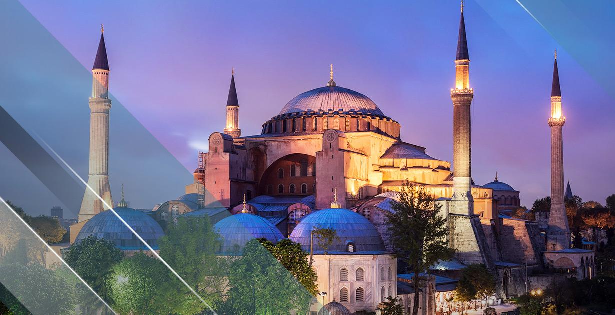UNESCO World Heritage Site — The Golden Hagia Sophia