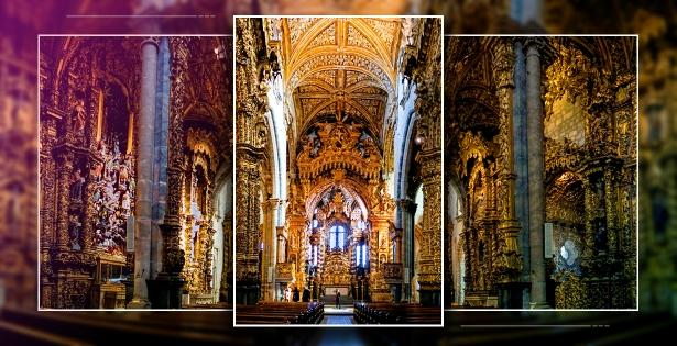 The Golden Baroque of Porto