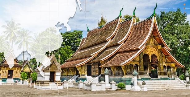 The precious temple of Laos