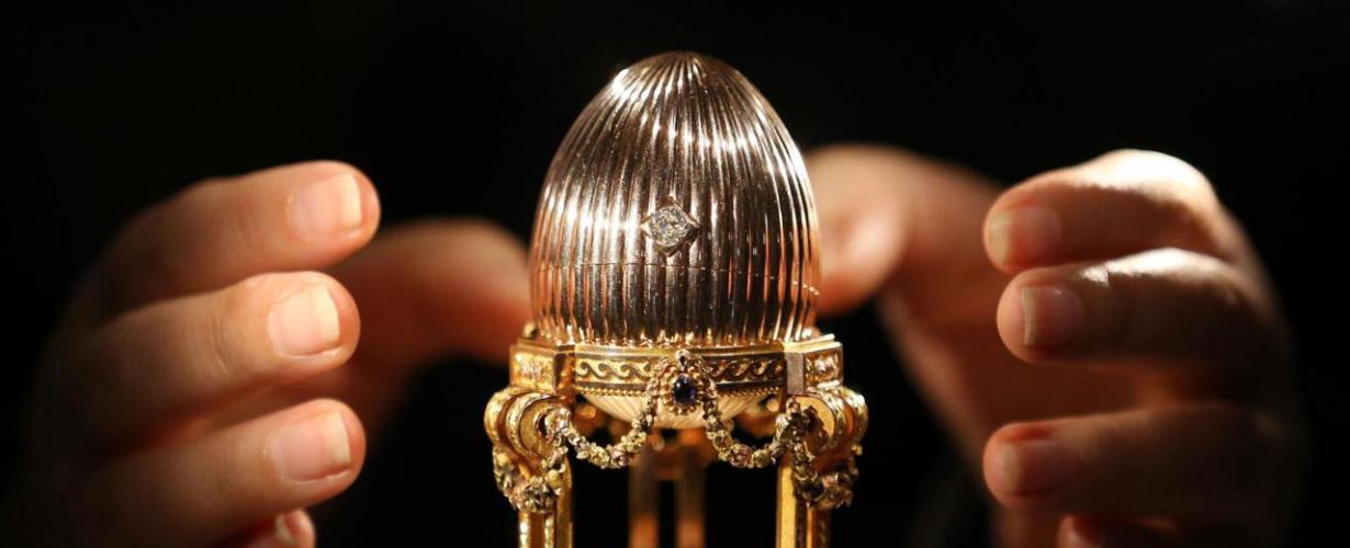 Secretos de joyería: los huevos de Fabergé