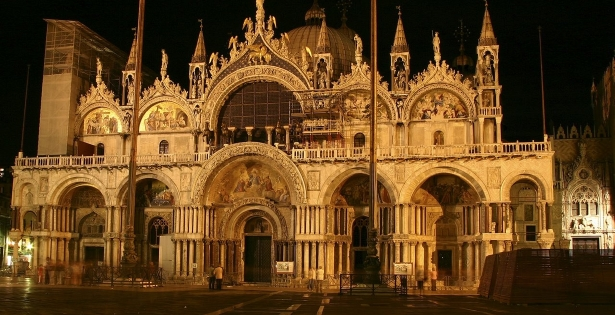 The Golden Basilica of Venice