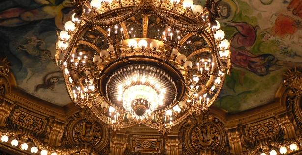 Золотая люстра Большого театра